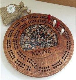 Maine Shellware Maine Shellware Cribbage Board