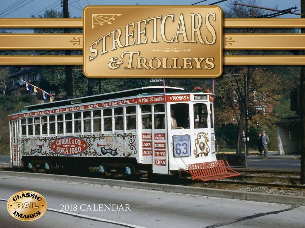 2018 Streetcars & Trolleys Calendar
