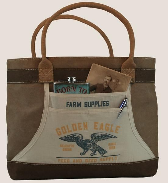 Golden Eagle Farm Supplies Tote