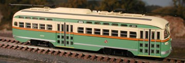 Chicago Repaint # 1058 San Francisco F Line PCC
