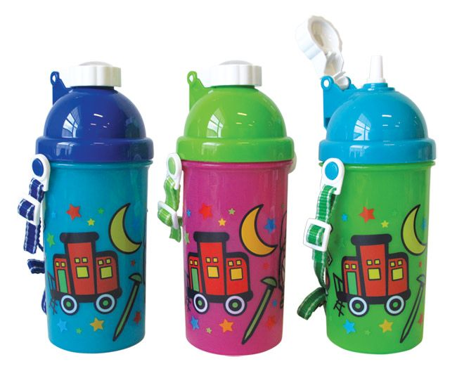 Pop-up Water Bottle Choo-Choo