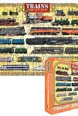 Children's 100 Piece Trains Puzzle