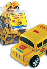 Bump & Go School Bus Display Jar