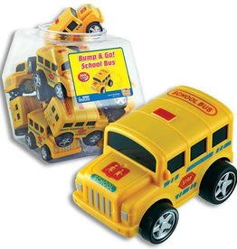 Bump & Go School Bus Display Jar
