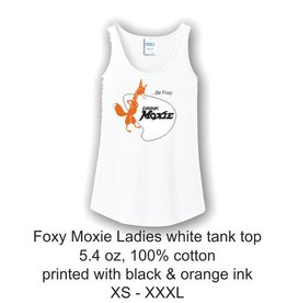 Be Foxy Drink Moxie Ladies Tank