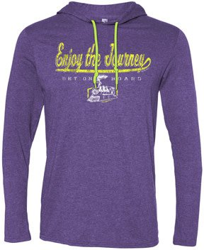 Enjoy The Journey Long Sleeve Hooded Tee