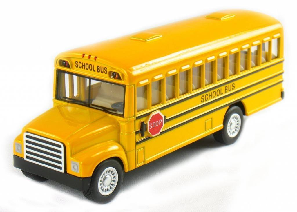 "5"" Yellow School Bus"