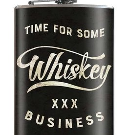 Trixie & Milo Time for Some Whiskey Flask