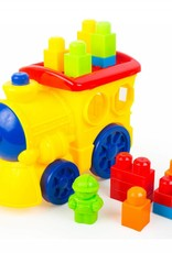 Lil Engine Recycled Plastic Block Train Set