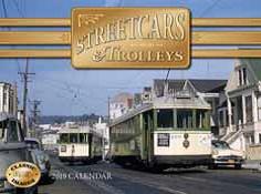 2019 Streetcars & Trolleys Calendar