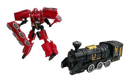 King Railway Train Robots:  King of the Railways