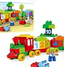 Lil Engine 48pc Mega Block Train