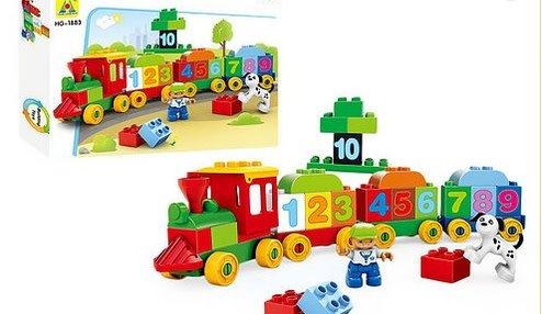 Lil Engine 48pc Mega Block Train