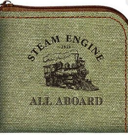 3T Rail Products Steam Train Coin Purse