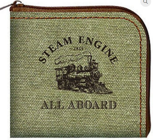 Steam Train Coin Purse