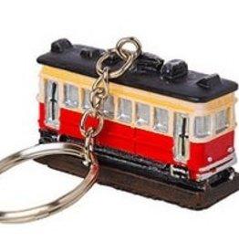 Resin Trolley Keychain