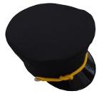 Conductor Uniform Hat *Special Order* (adjustable)