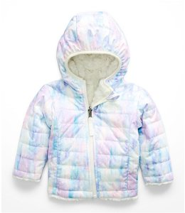 The North Face Infant Reversible Moss Swirl Hoodie