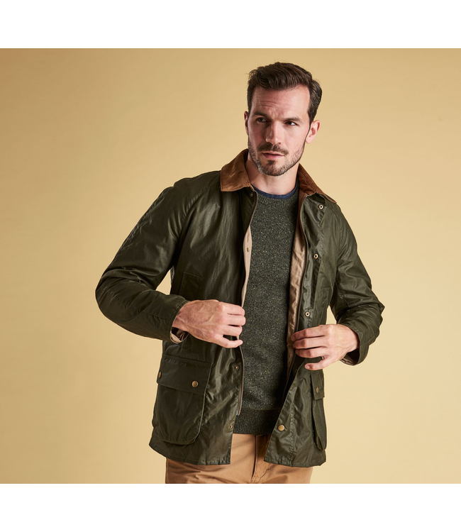 Barbour M's Lightweight Ashby Waxed Jacket