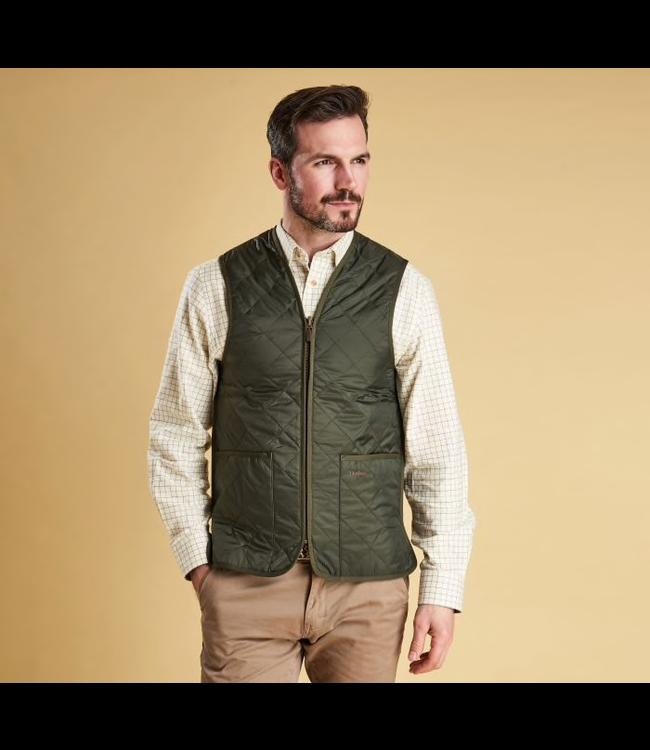 Barbour M's Quilted Waistcoat Zip-In Liner