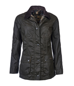 Barbour W's Classic Beadnell Wax Jacket