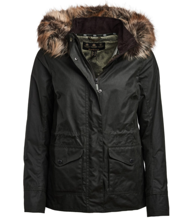 Barbour W's Scallp Wax Jacket