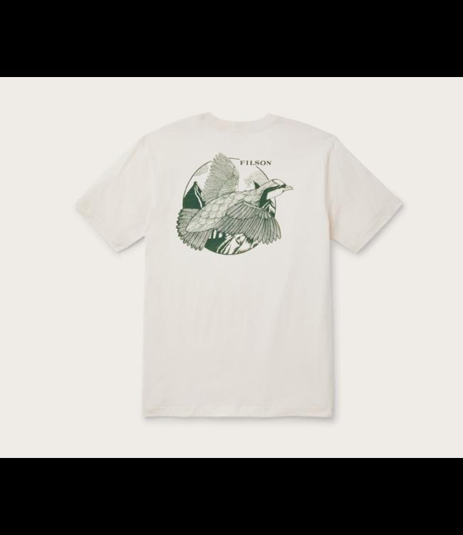Filson S/S Lightweight Outfitter T-Shirt Natural Medium 1st Quality Standard