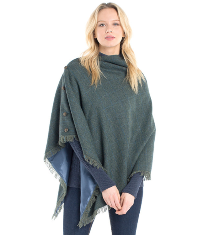 Dubarry W's Hazelwood Tweed Poncho