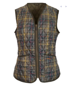 Barbour W's Tartan Betty Liner Vest