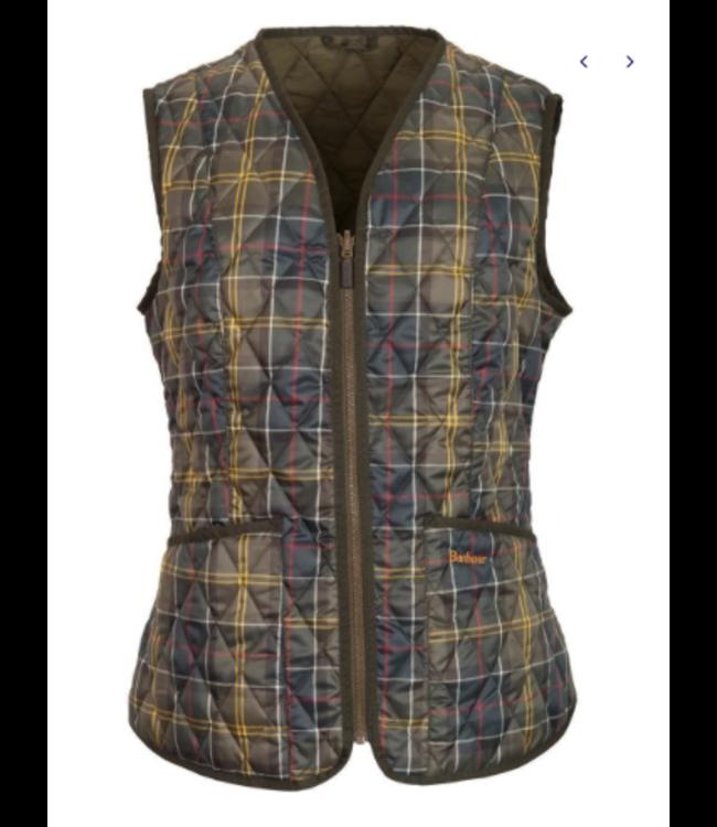 Barbour W's Tartan Betty Liner Vest