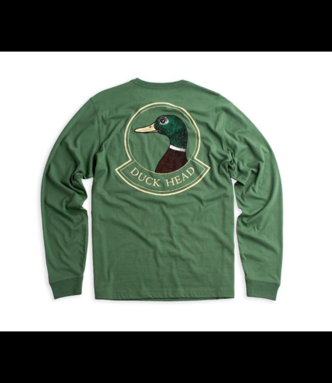 DUCKHEAD M's Badge Long-Sleeve T-Shirt
