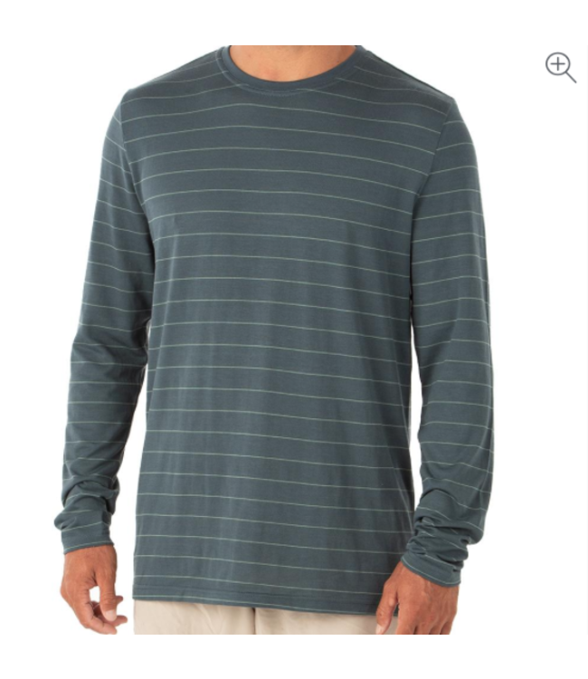 Free Fly M's Bamboo Shoreline Long Sleeve