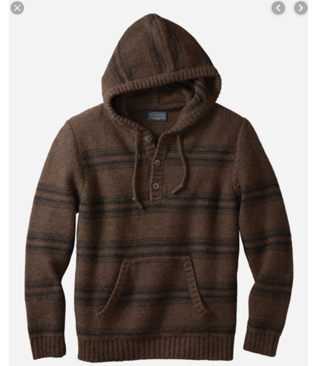 Pendleton M's Alpaca Stripe Hoody