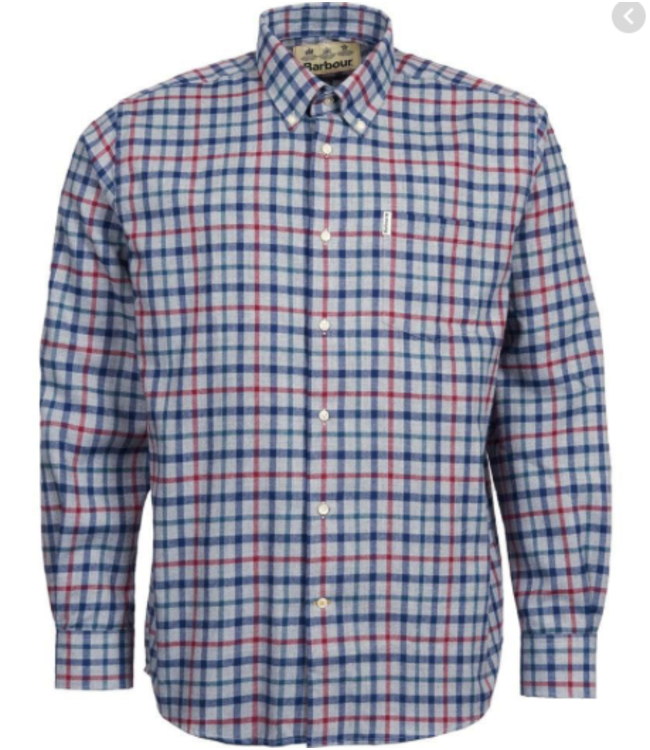 Barbour M's Thermo Collar Shirt