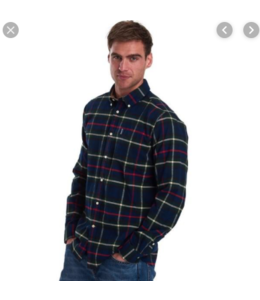 Barbour M's Highland Check 19 Tailored Shirt