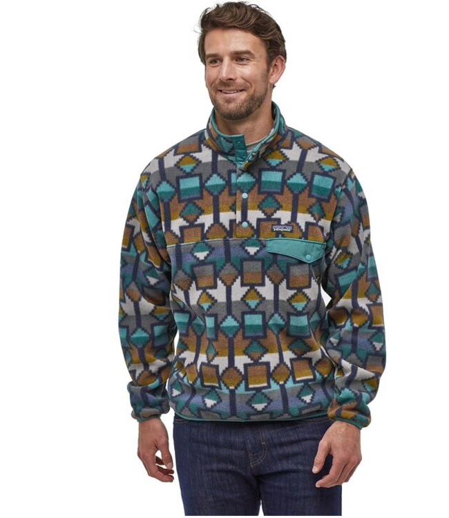 Patagonia M's LW Synchilla Snap-T Fleece Pullover