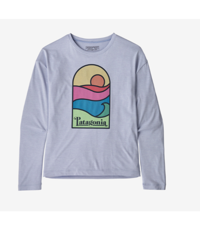 Patagonia Girls' L/s Capilene Cool Daily T-Shirt