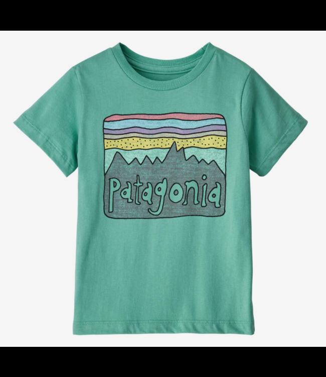 Patagonia Baby Fitz Roy Skies Organic Cotton T-Shirt