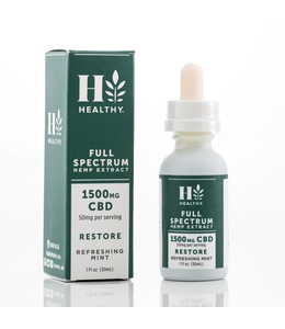 The Healthy Market 1,500mg Full Spectrum Tincture
