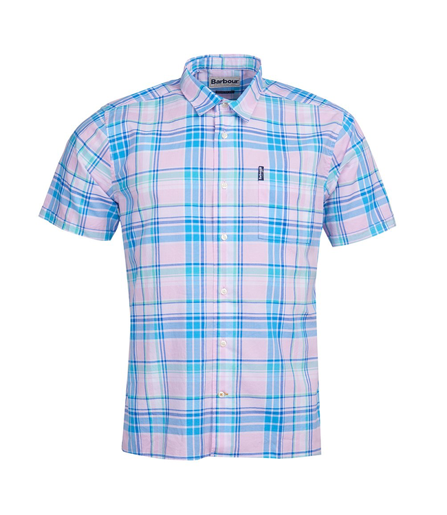 Barbour Barbour M's Madras 6 Short Sleeve Summer