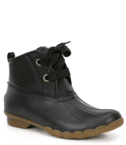 Sperry W's Saltwater 2-Eye Leather Duck Boot