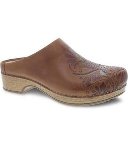 Dansko Brenda Tan Waxy Burnished