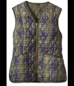 Barbour W's Tartan Betty Classic Liner Vest