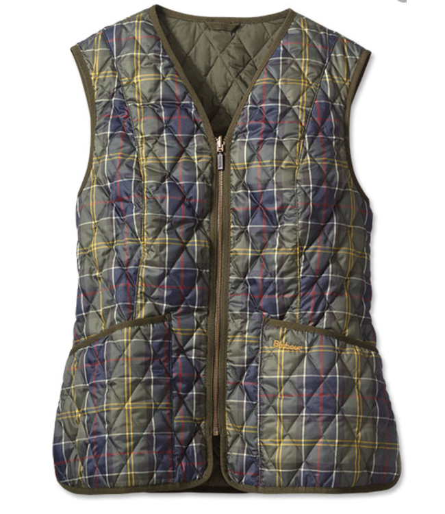 Barbour W's Tartan Betty Classic Liner Vest