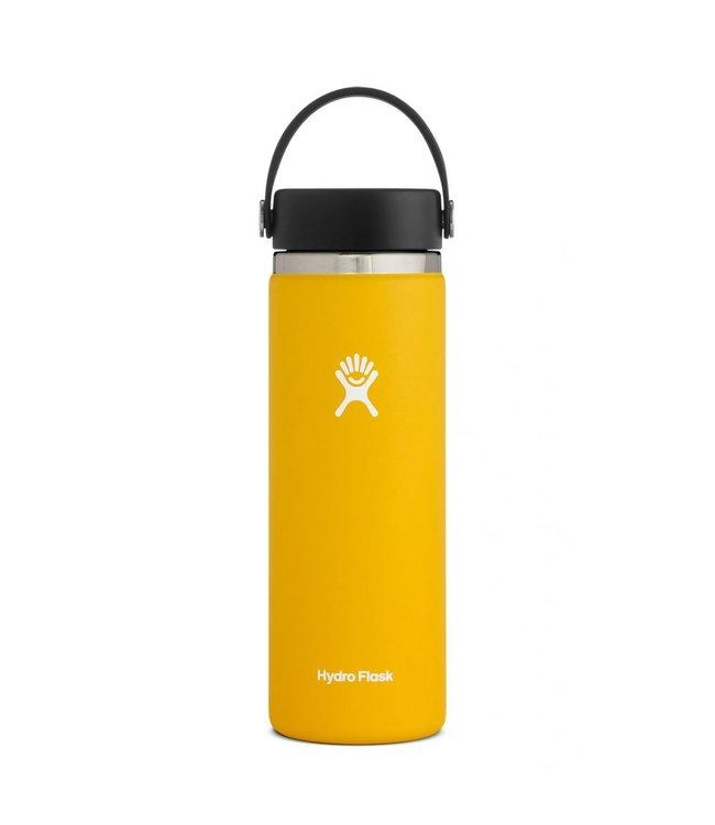 Hydro Flask Hydroflask Wide Mouth w/ Flex Cap, Sunflower, 20 oz