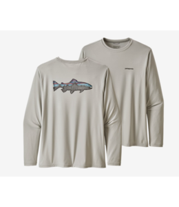 Patagonia M's L/S Capilene Cool Daily Fish Graphic Shirt