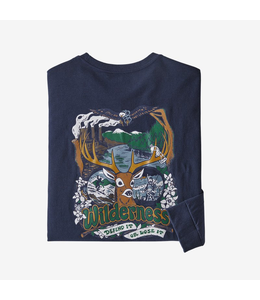 Patagonia M's L/S Yes To Wilderness Responsibili-Tee