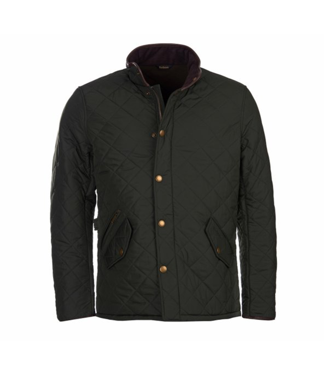 Barbour M's Powell Quilted Jacket