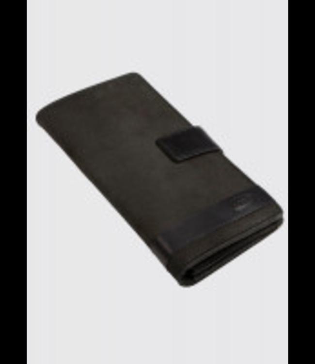 Dubarry Milltown Black Leather Travel Wallet