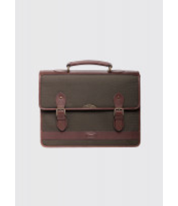 Dubarry Belvedere Olive Leather Brief